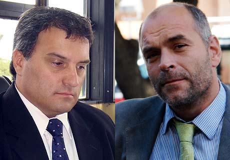 Jueces Bustamante y Reussi