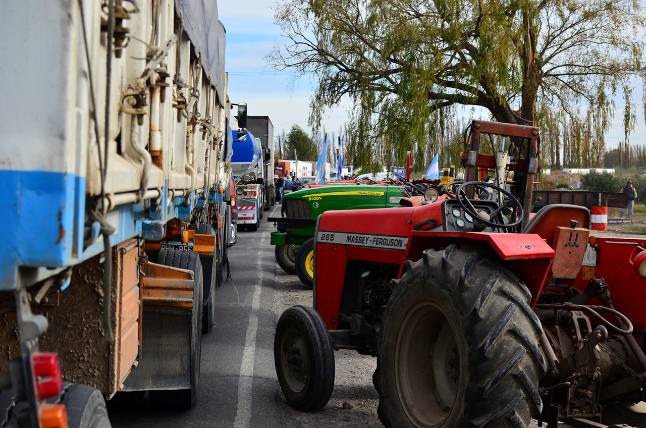 Los productores se suman a la protesta contra el tarifazo