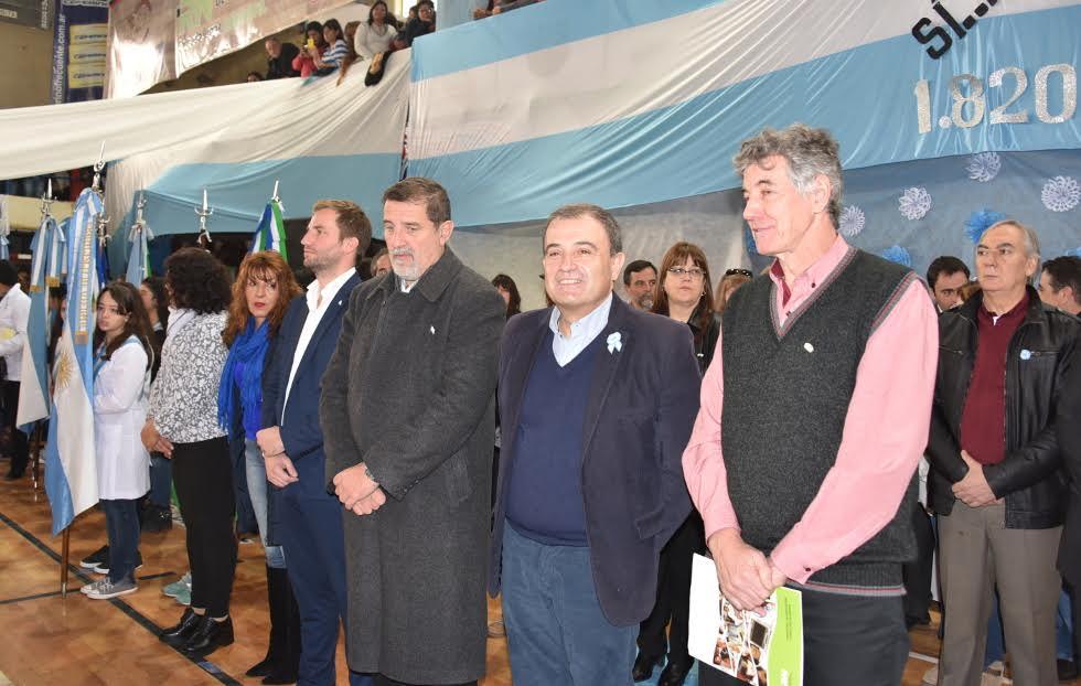 Los chicos salteños prometieron lealtad a la Bandera Argentina