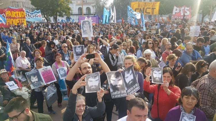 Familiares exigen que el Gobierno reconozca la desaparición forzada