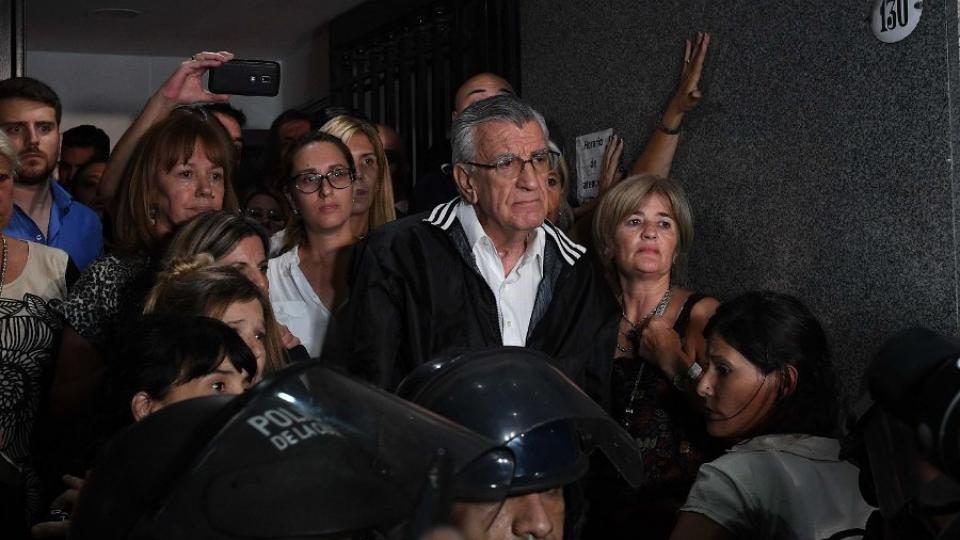 """Barrionuevo desafiante: """"El interventor soy yo, el que asume la responsabilidad soy yo"""""""