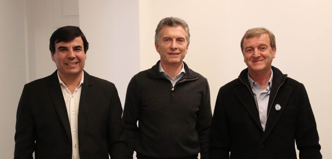 Tortoriello se reunió con Macri y se afianza como candidato