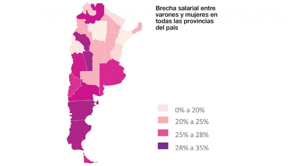 Brecha salarial de género: Río Negro en el top ten