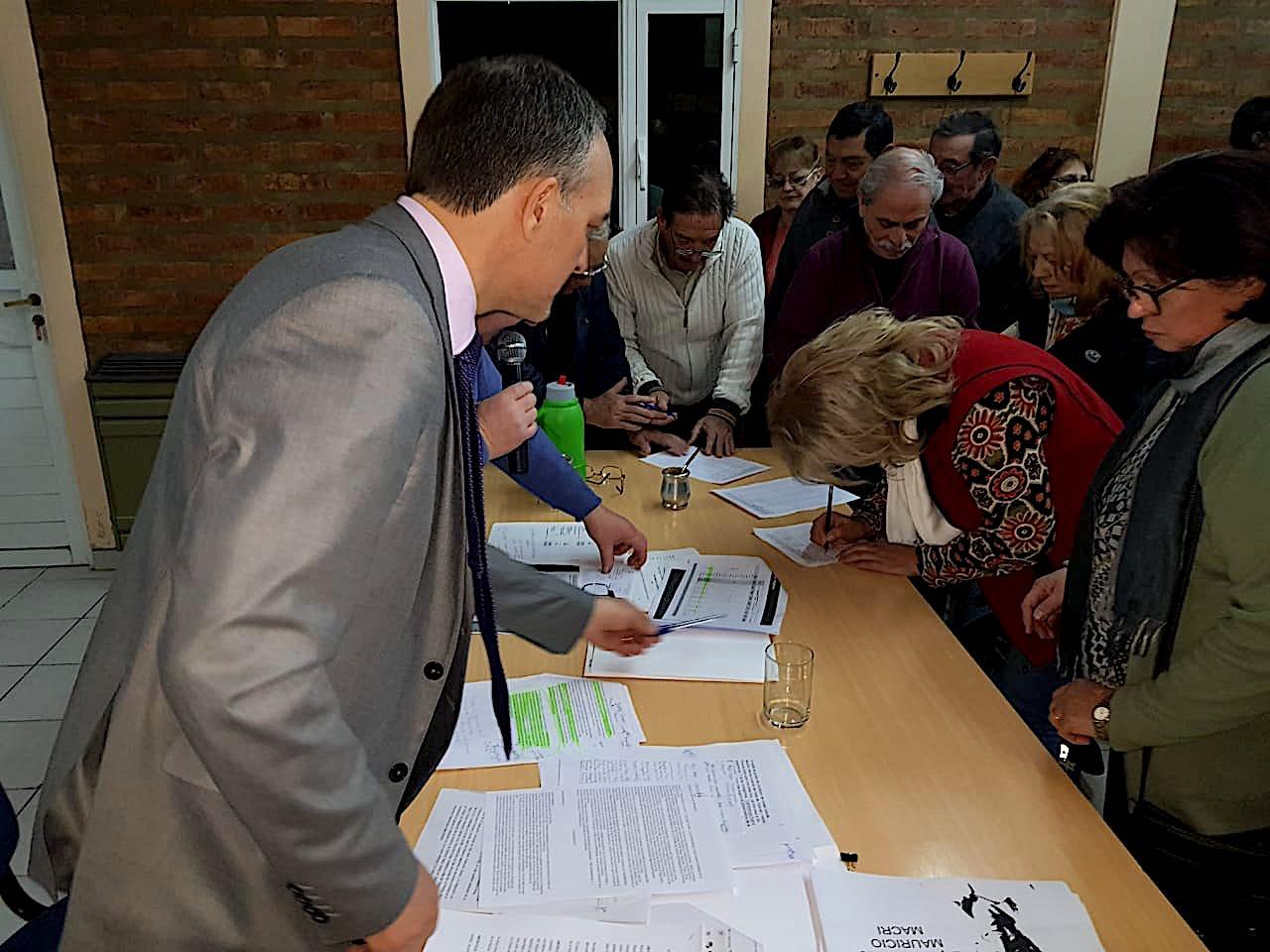 Doñate presentó el proyecto de jubilación con moratoria