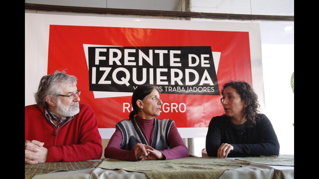 La Izquierda busca su primera banca en Río Negro