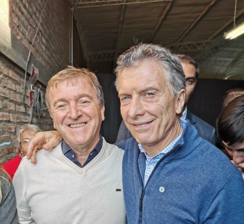 Macri respaldó la reelección de Tortoriello en Cipolletti