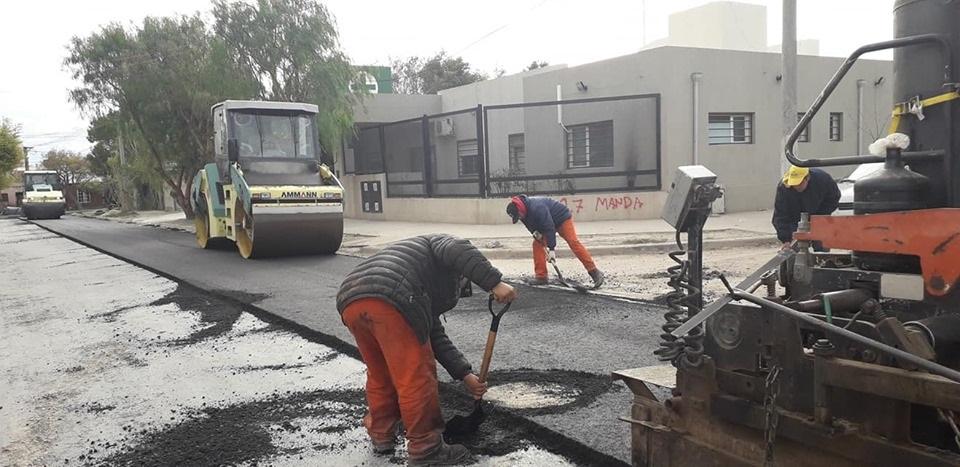 fotos de diseño de entrada de asfalto Plan De Asfalto Beneficia A Instituciones De Viedma ADN